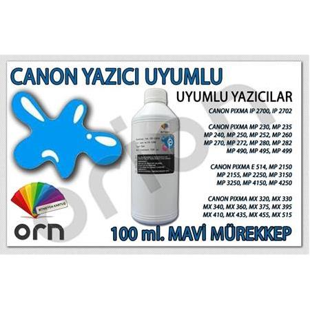 100 ml. Mavi Canon ORION Mürekkep