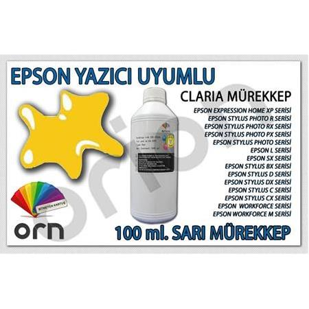 100 ml. Sarı Epson ORION Mürekkep